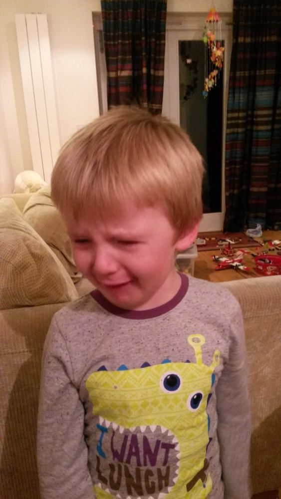 Thirty-Nine Things Guaranteed to Cause a Four-Year-Old Meltdown